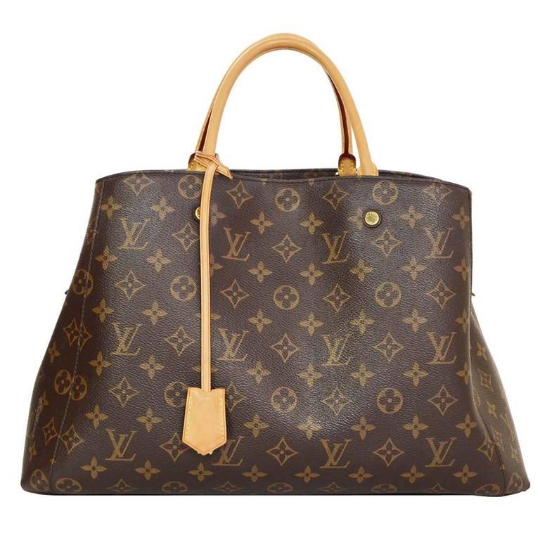 Louis Vuitton Monogram Montaigne GM Bag w/ Shoulder Strap rt. $2,570 1