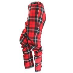Comme des Garcons AD 2010 Twisted tartan Trousers