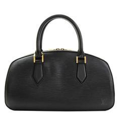 Louis Vuitton Jasmin Black Epi Leather Hand Bag