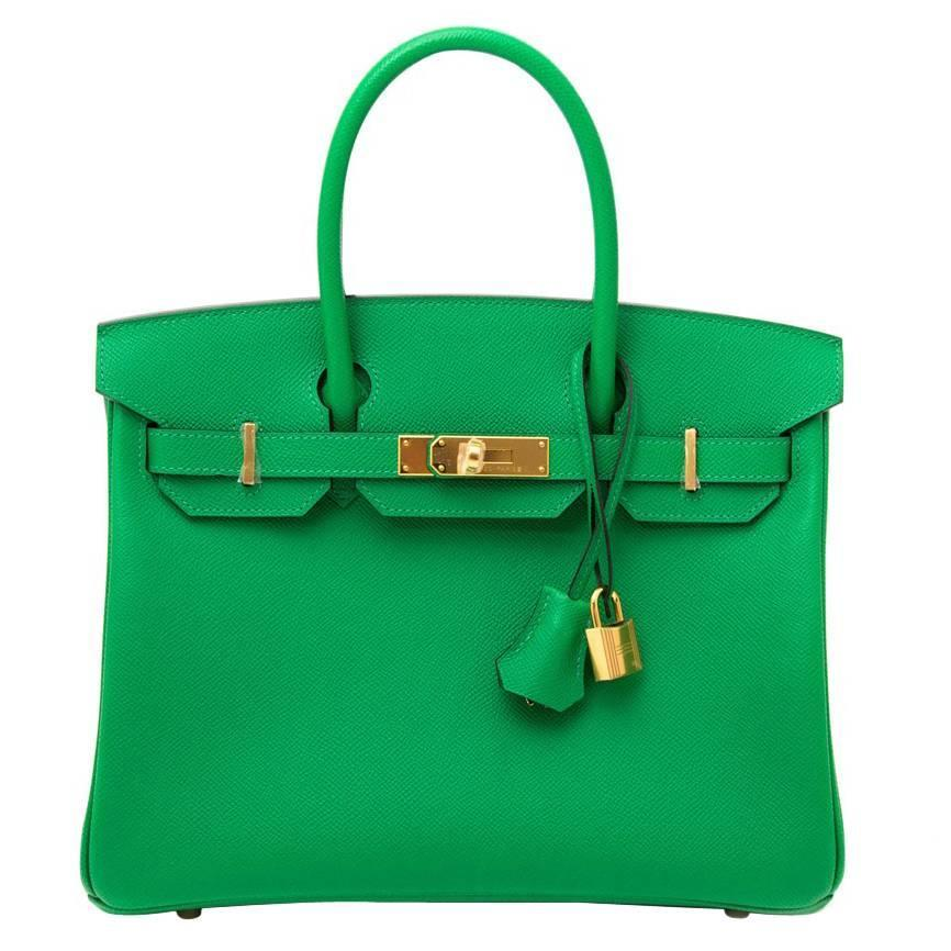 brand new hermes birkin 30 bambou epsom for sale at 1stdibs - Bambou Color