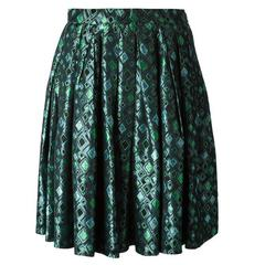 1993s Saint Laurent Brocard Skirt