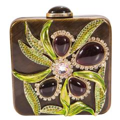 Tom Ford for Yves Saint Laurent S/S 2004 Jeweled Crystal Clutch