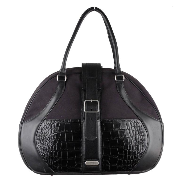 SAMSONITE BLACK LABEL by ALEXANDER McQUEEN Black Travel Bag ...