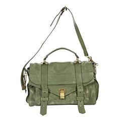Green Proenza Schouler PS 1 Satchel