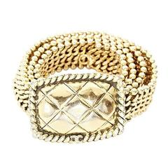 Goldtone Chanel Chain Belt