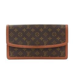 Vintage Louis Vuitton Pochette Dame GM Monogram Canvas Clutch Bag