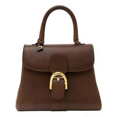 Delvaux Brown Pm Brillant Bag