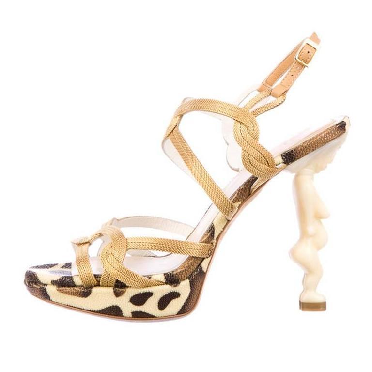 Iconic Christian Dior Fertility Goddess heels