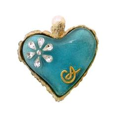 Vintage Christian LaCroix Heart Pin