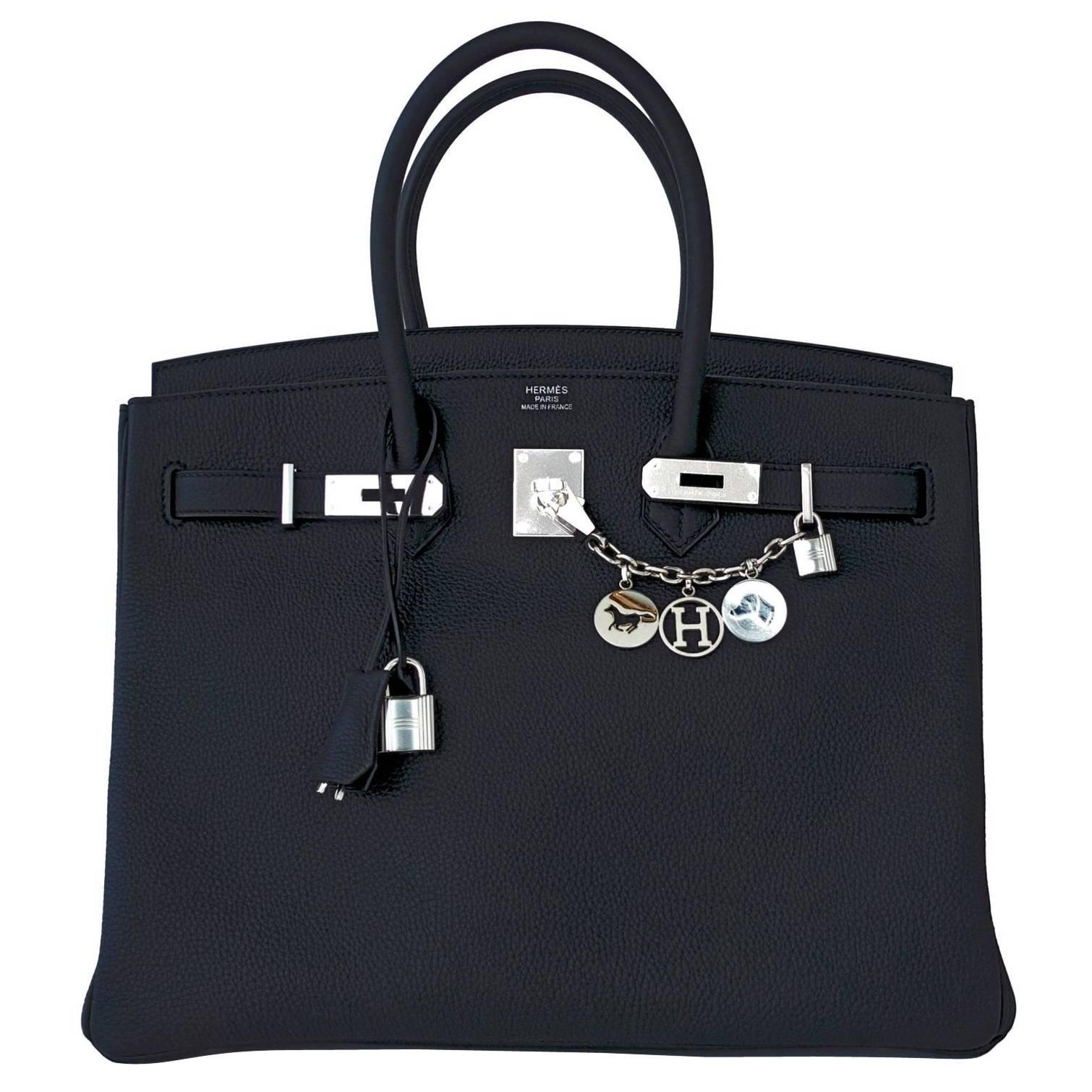 13f5f3523dac Hermes Birkin 25cm Black Togo Gold Hardware C Stamp Birkin Bag