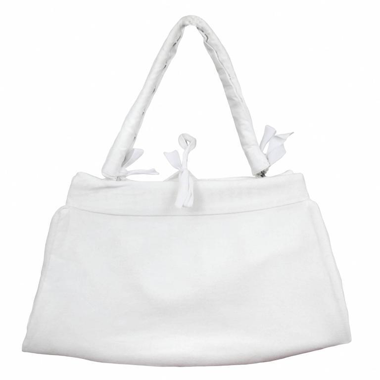 Martin Margiela Artisanal Muslin Handbag 2002/03 For Sale