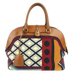 Burberry Prorsum Velvet Bowling Bag