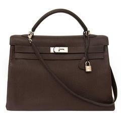 Hermes Kelly 40 Cafe Clemence Taurilllon PHW