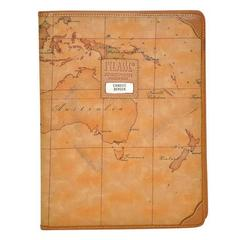 "Alviero Martini ""Map"" Note-Pad Cover"
