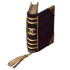 """Chanel Clutch """"Bible"""" Book  Leather  Rare Collector's Item Limited Edition 2004"""