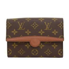 Louis Vuitton Pochette Arche Monogram Canvas Clutch Bag