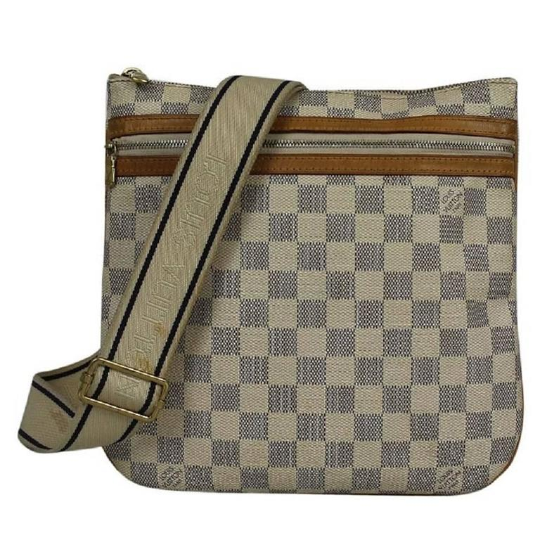 Louis Vuitton Canvas Bosphore Monogram Damier Cross Body