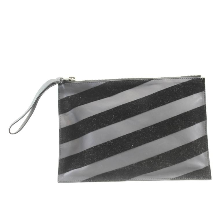 New Lanvin Velvet clutch