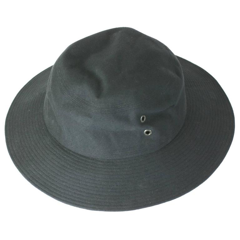 14d9a4cc1e7 Yves Saint Laurent Black Fisherman s Hat For Sale at 1stdibs