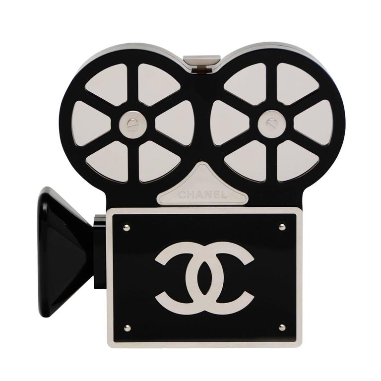 CHANEL Rome 2016 Movie Camera Minaudière Handbag Seen On Mira Duma NEW 1