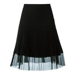 Christian Dior Ribbed A-Line skirt