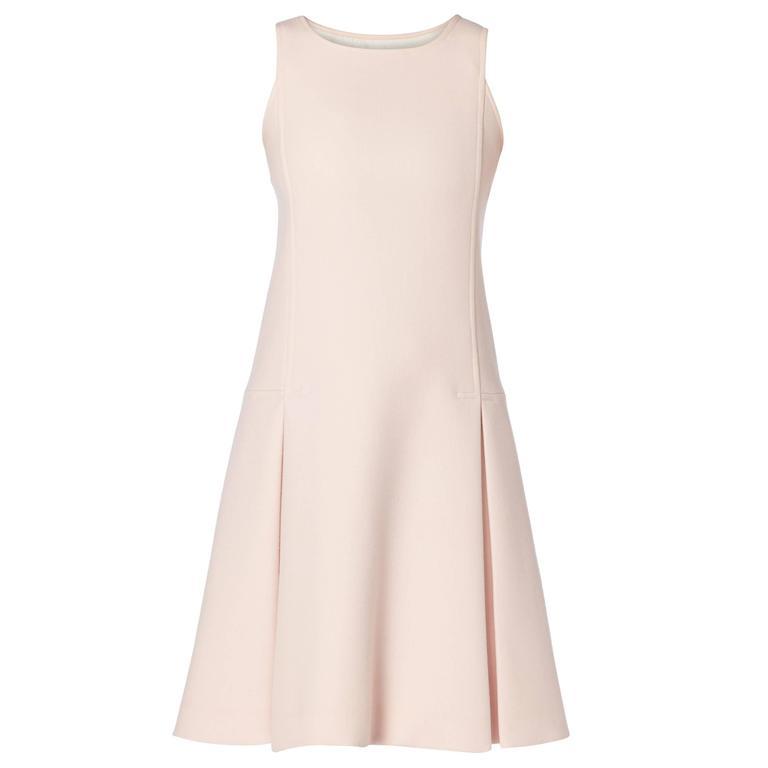 Courrèges haute couture pink dress, circa 1966 1