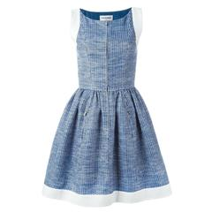 Chanel Pleated A-Line Dress
