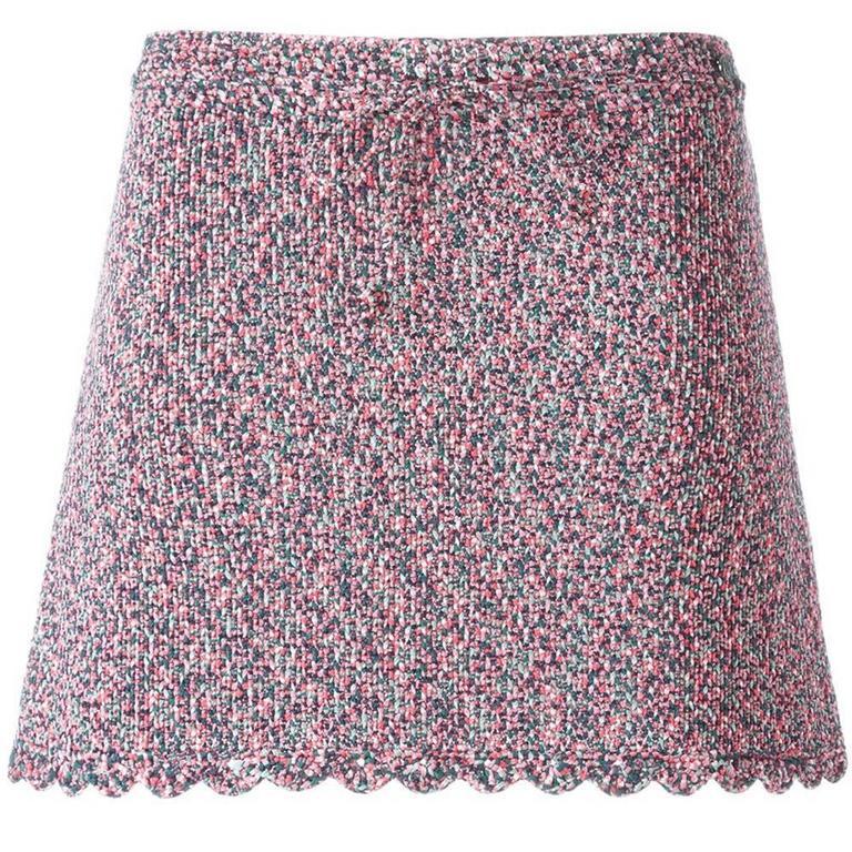 Chanel Knit Mini Skirt 1