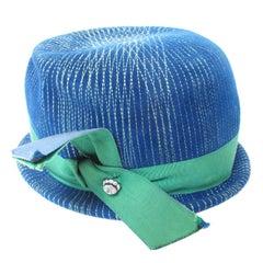 Schiaparelli Hat with Stitching Detail