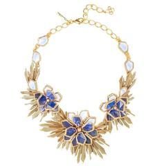 Oscar de la Renta Wild Flower Necklace
