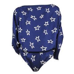 Martin Margiela Blue Star Bodysuit 2007