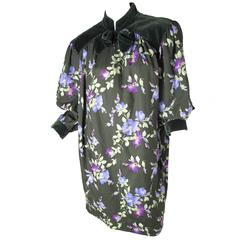Yves Saint Laurent Rive Gauche Floral Sack Dress - sale