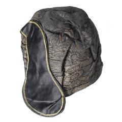 1920s Brocade Hat