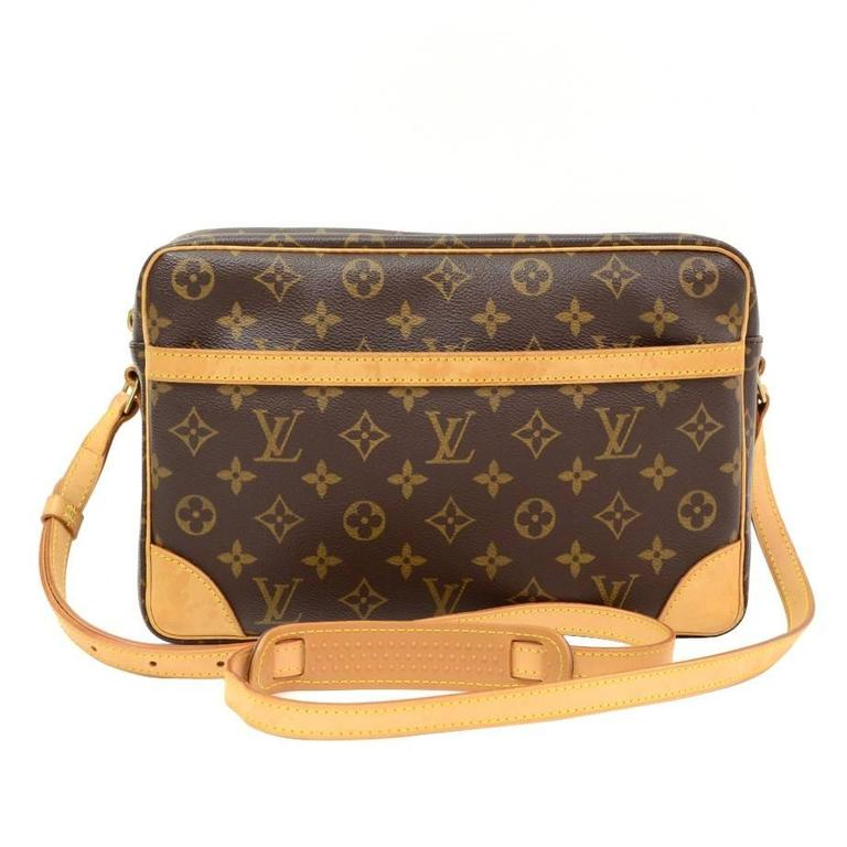 Louis Vuitton Trocadero 27 Monogram Canvas Shoulder Bag 1