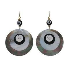 Nine Swirl Earrings, MWLC