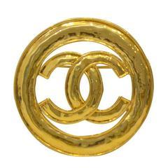 Spring 1994 Gold Circle Logo Pin