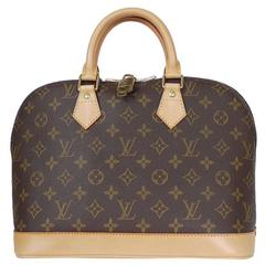 Louis Vuitton Monogram Alma Handbag Satchel ,Tote