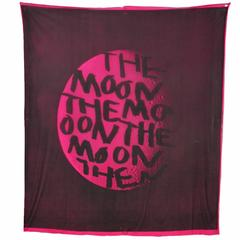 Sprouse Magenta Moon Scarf