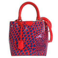 Louis Vuitton Limited Ed. NEW Red Vernis Top Handle Satchel Crossbody Tote Bag