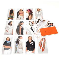 Hermes Cartes A Nouer Knotting Cards Scarf Guide
