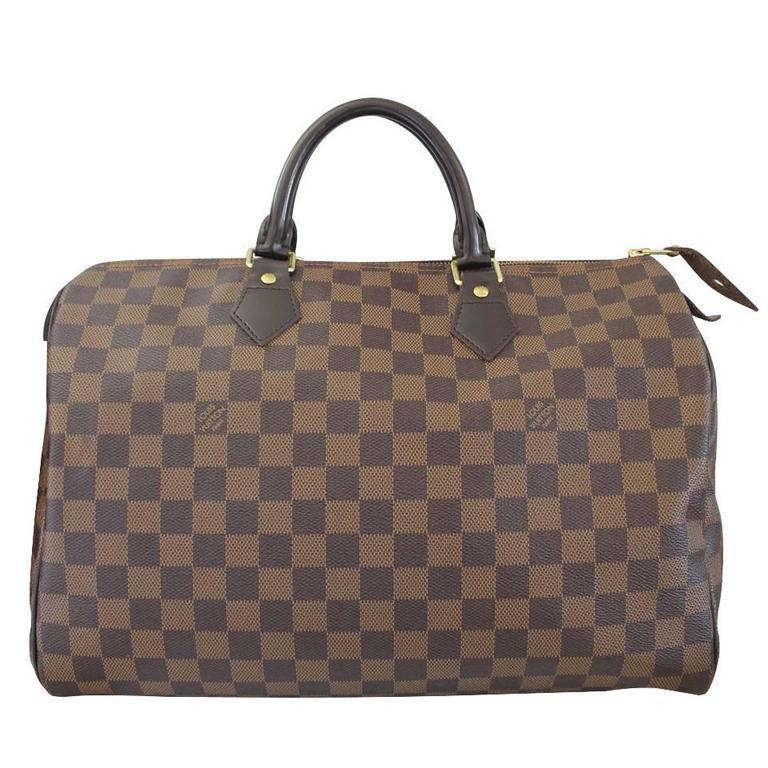 57df4edf495ac Louis Vuitton Speedy 30 Damier Ebene Handbag at 1stdibs