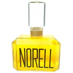 Norell Sleek Large Crystal Factice Fragrance Display Bottle