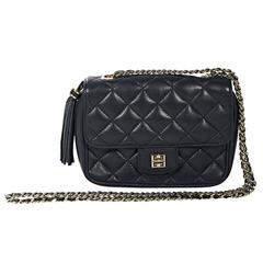 Navy Givenchy Quilted Leather Crossbody Bag