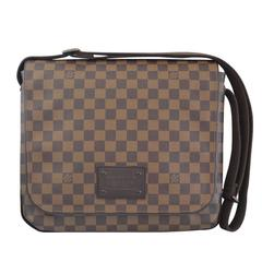 Louis Vuitton Brooklyn MM Damier Ebene Messenger Bag Discontinued