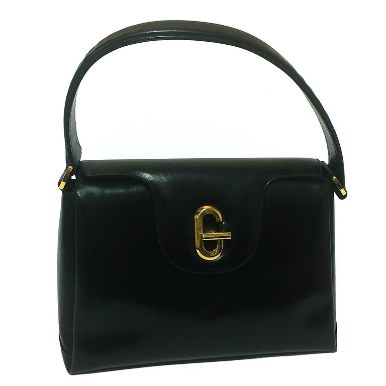 ea9b80475a92 Vintage Gucci Black Leather Purse | Stanford Center for Opportunity ...