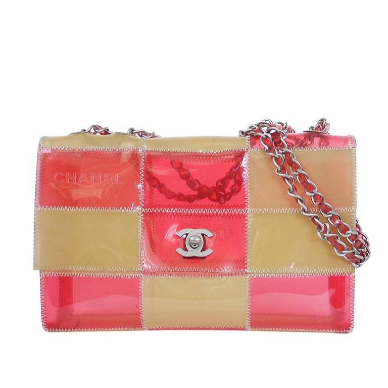d354d8edb56 Chanel Patchwork Quilt 2.55 Naked Classic Flap Bag Pink at 1stdibs