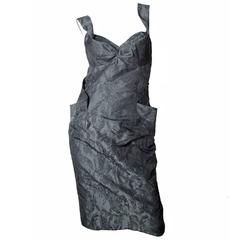 Vivienne Westwood Brocade Crossover Dress