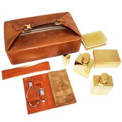 Rare Hermès vintage travel case 1975