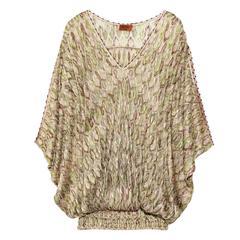Stunning Missoni Zigzag Signature Knit Dress Cover Up