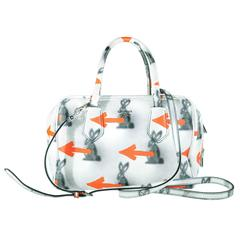 Prada Resort 2016 Collection Bunny Arrow Prints Inside Bag New